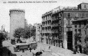 Torres de Quart, 1910