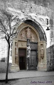 Puerta de los Apóstoles, Colegiata de Gandia. (princ. s.XX -> 2014)