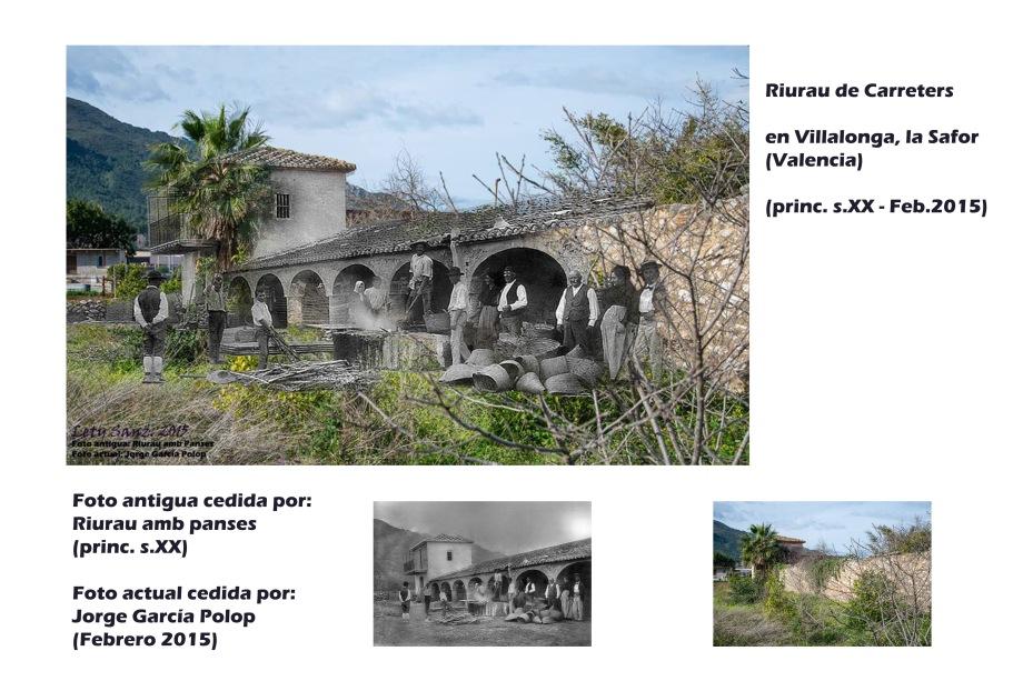 RIURAU VILLALONGA, 3 FOTOS