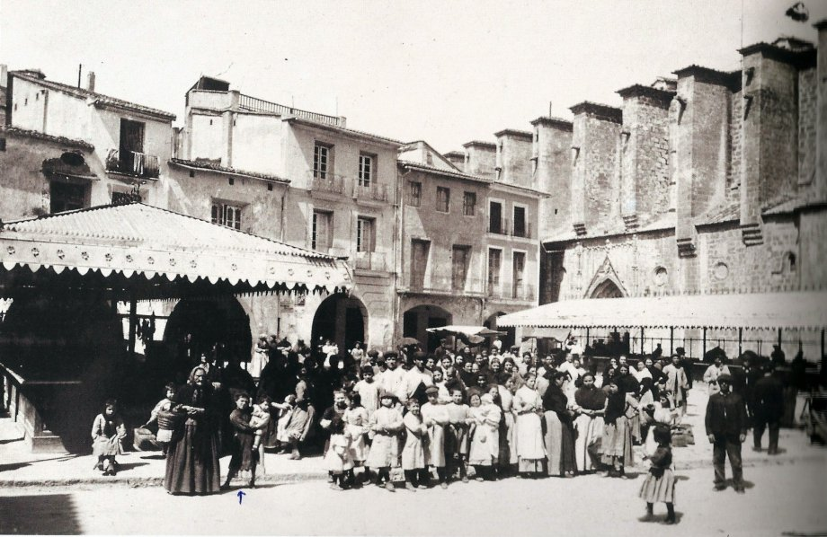 La Plaza Mayor en 1892