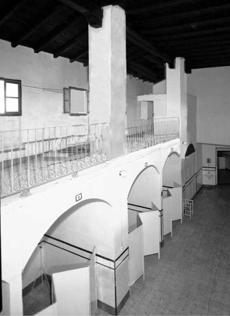 Interior del Hospital Sala de Mujeres