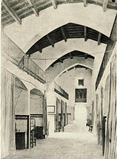 Interior del Hospital Sala de Hombres