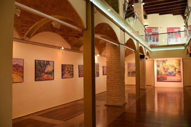 Interior de la antigua Sala de Mujeres. Actual espacio de exposiciones.