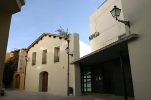 Fachada del actual espacio museístico MAGA